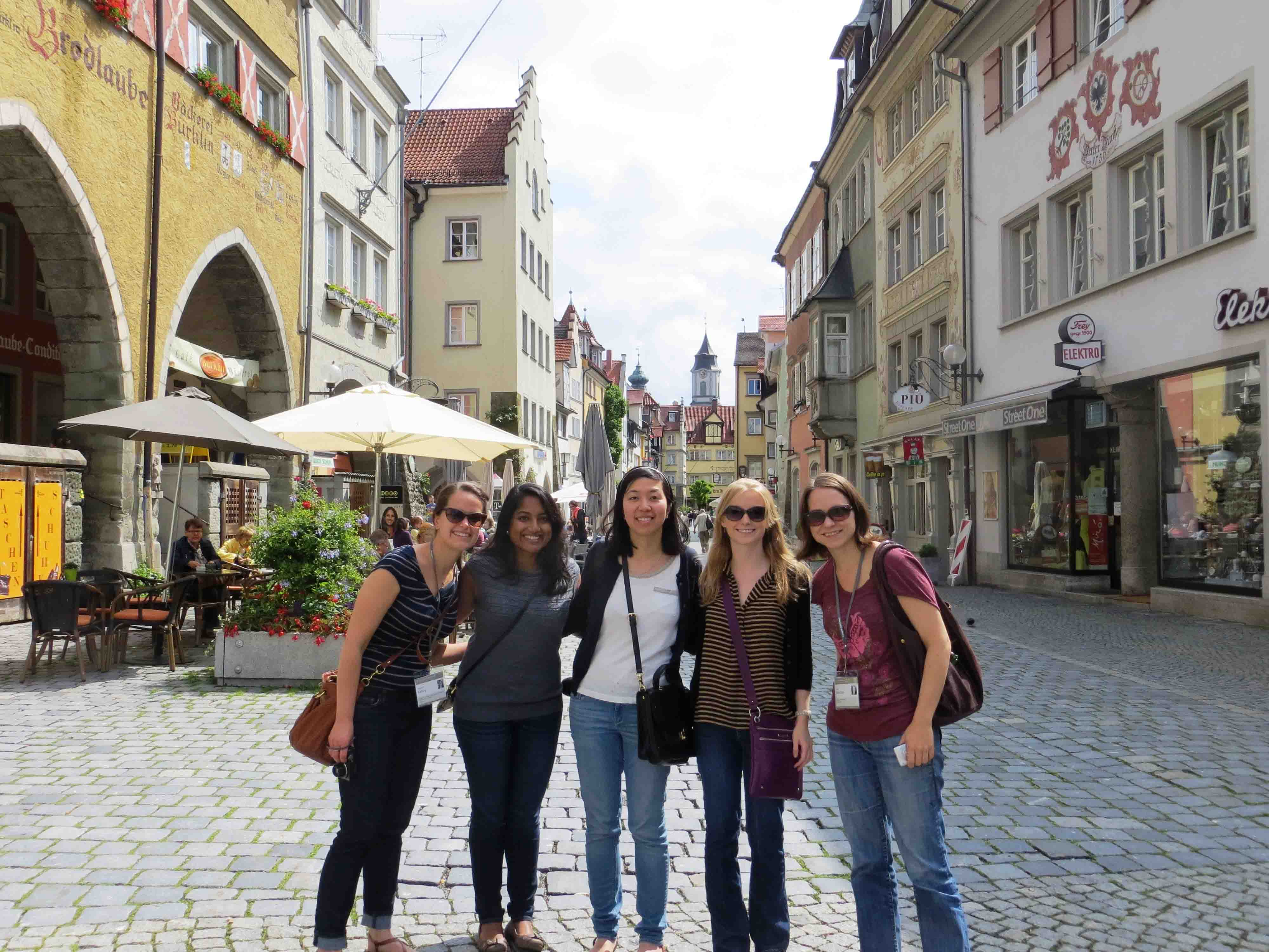 U.S. researchers explore the island city of Lindau, Germany.