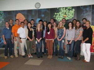 The Novozymes Franklinton intern class of Summer 2013