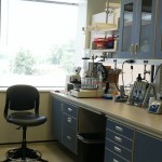 My lab bench at Novozymes, were I spent many hours pipetting corn mash and enzymes!