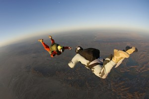 Free fall produces the effects of microgravity. Photo by http://www.photoree.com/photos/permalink/15089034-54636546@N02