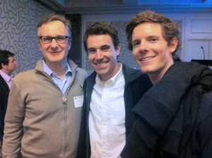 From left, Denis Wirtz, Christopher Hale and Terrence Dobrowsky