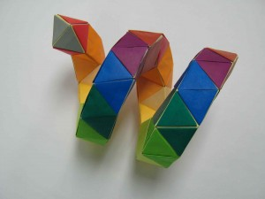 Not actual DNA origami.