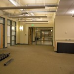 Student and faculty office spaces August 17 in Shaffer Hall
