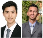 Dong Jin Shin (l) and Sebastian Barreto-Ortiz are among the 2016 Siebel Scholars.
