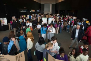 Spring 2015 STEM Showcase organized by SABES.