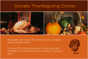 Vernon Rice Memorial Turkey Program